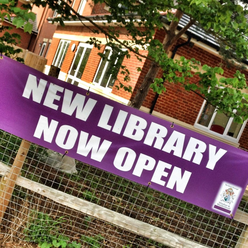 Best thing to come to Maidenhead until Crossrail: Boyn Grove Library opens!