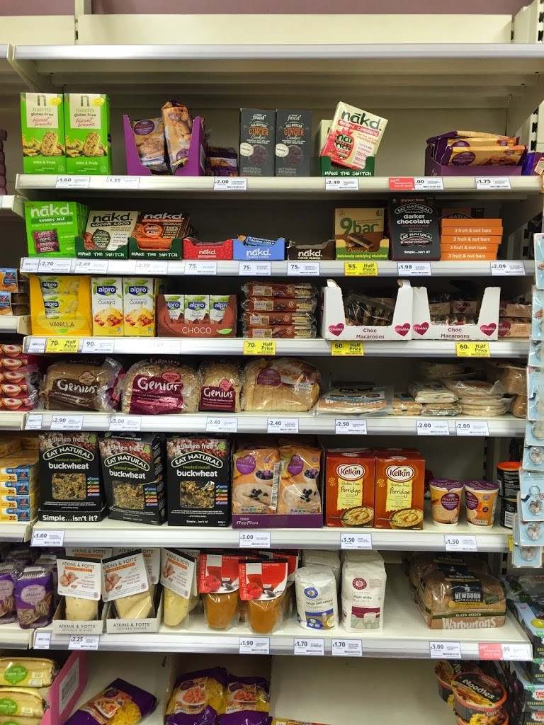 Gluten free food in Maidenhead , Tesco