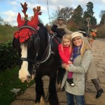 A festive Christmas Carriage ride in Windsor