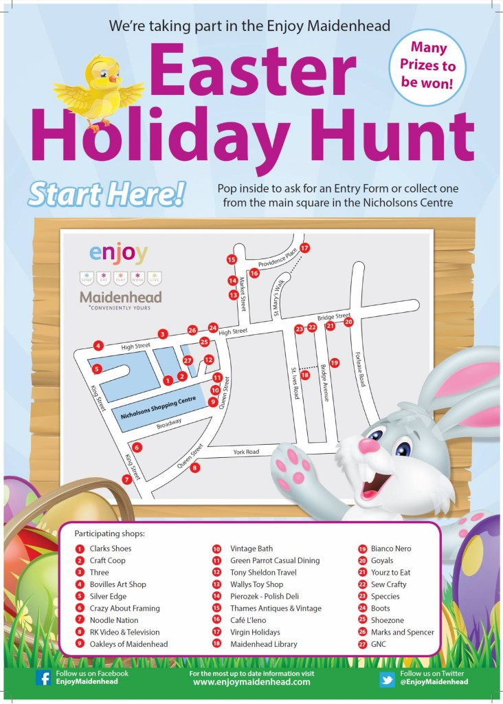 Easter Holiday Hunt, Nicholson Centre
