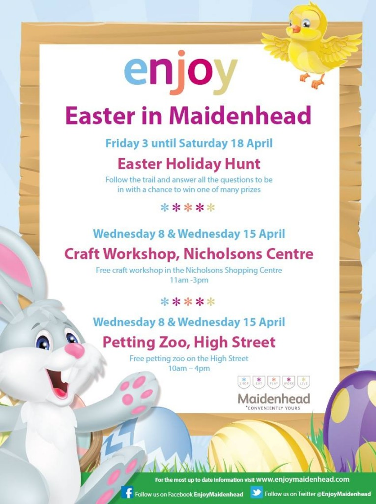 Easter in Maidenhead Nicholson Centre