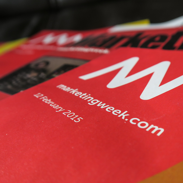 Marketing Week magazine