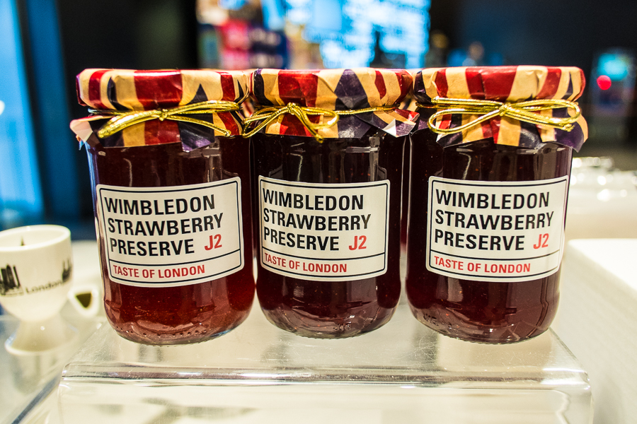 London themed jam