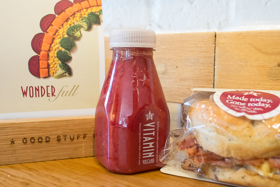 Breakfast on the go from Pret a Manger