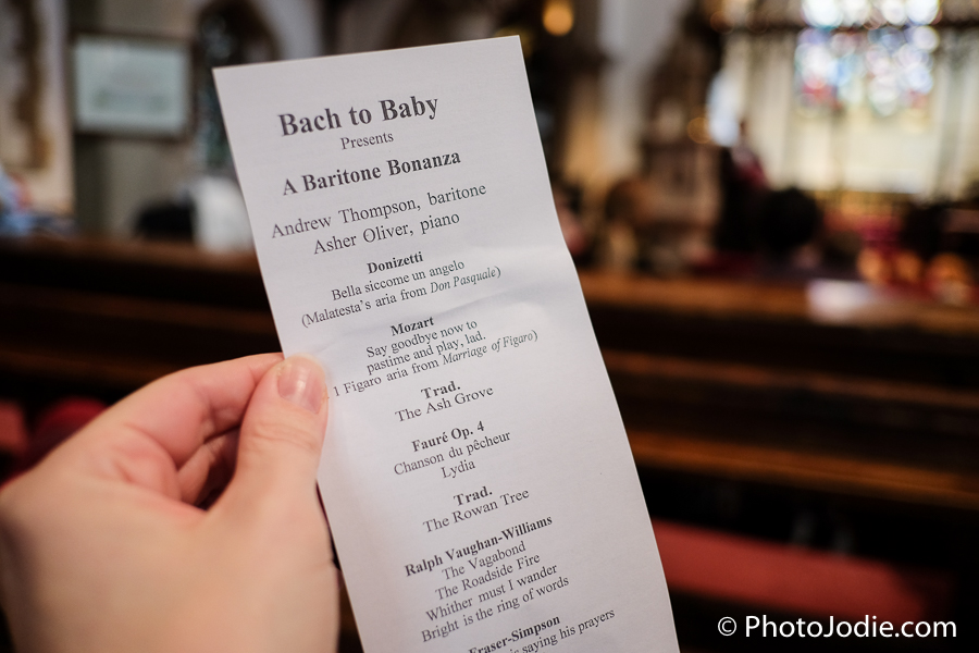 Bach to baby classical music concert in maidenhead