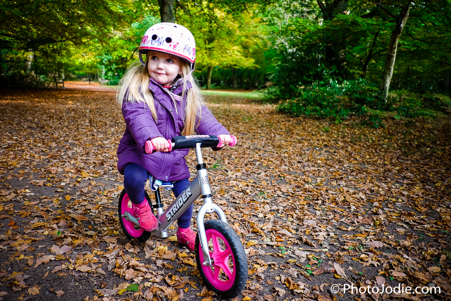 Burnham Beeches by Balance Bike
