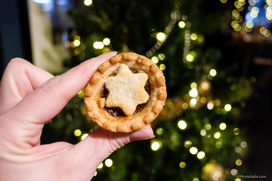 mince pie at christmas