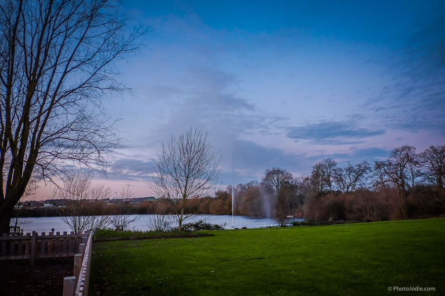 lake at Crowne Plaza Marlow