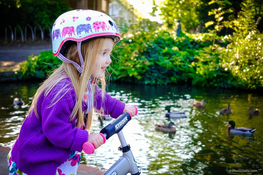 girl on bike in Maidenhead
