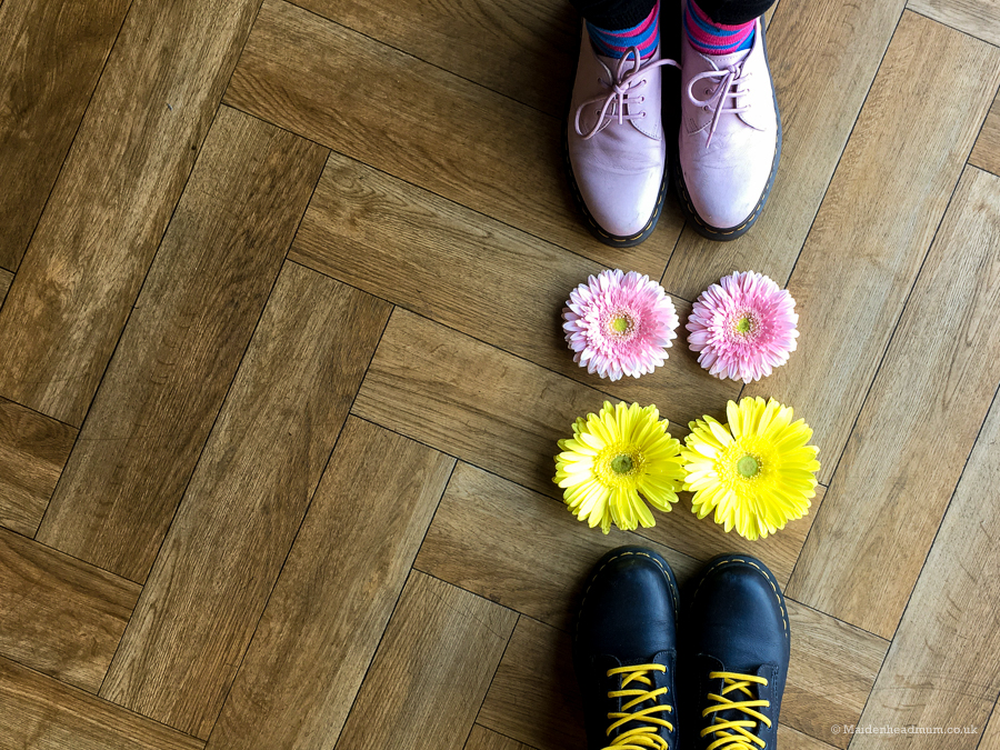 Dr Martens and Flowers