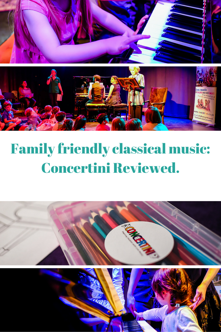 With the chance to chill out, colour in and even 'meet the instruments', Concertini concerts are a great way to introduce classical music to children of all ages.