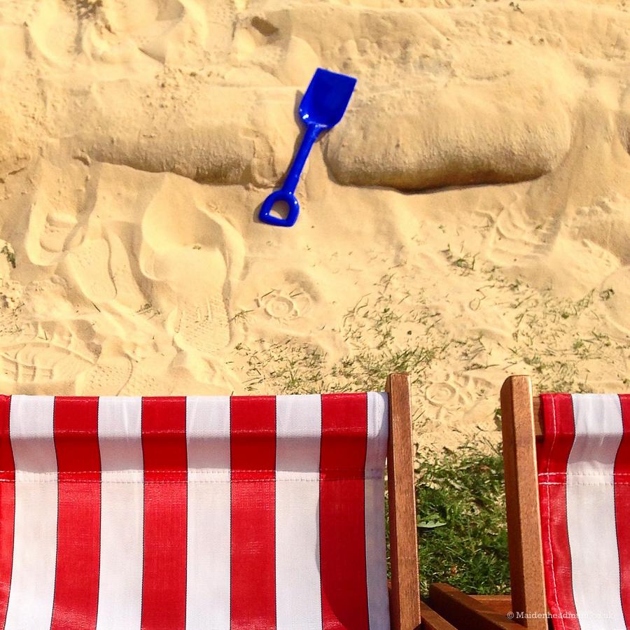 Beach at Maidenhead Festival