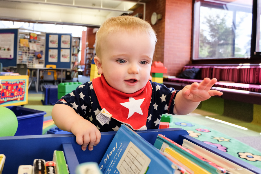 Maidenhead Mum Blog: Baby activities in maidenhead: library