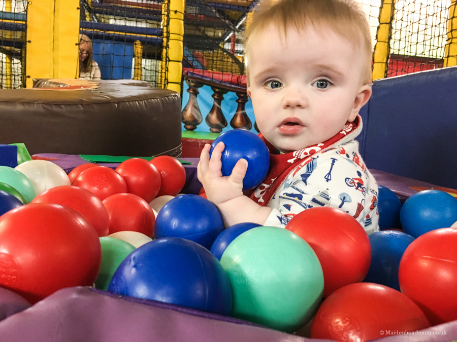 Maidenhead Mum blog: Baby activities maidenhead, Soft Play at Cheeky Charlies