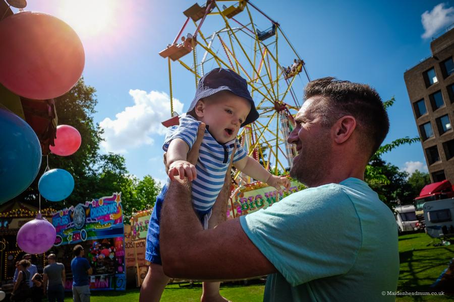 Family Friendly fun: Maidenhead Festival in photos.