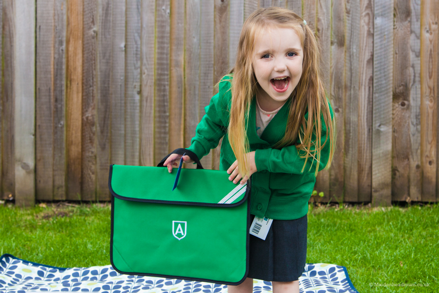 The highs and lows of becoming a first time school mum.