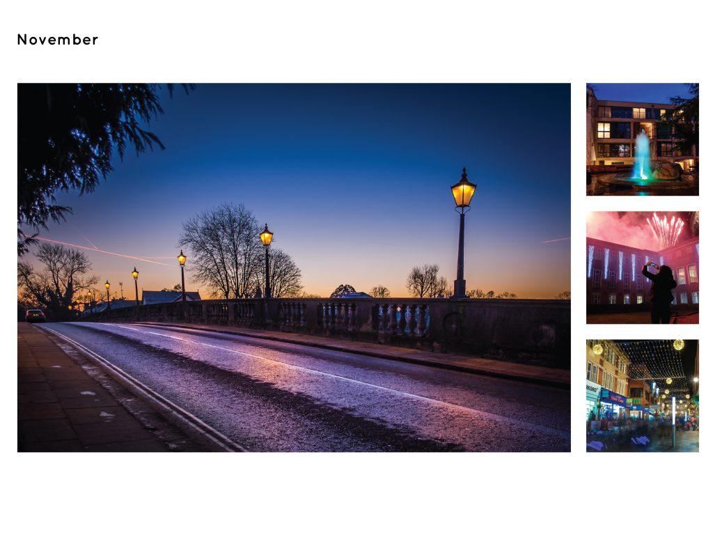 Maidenhead Calendar Page November