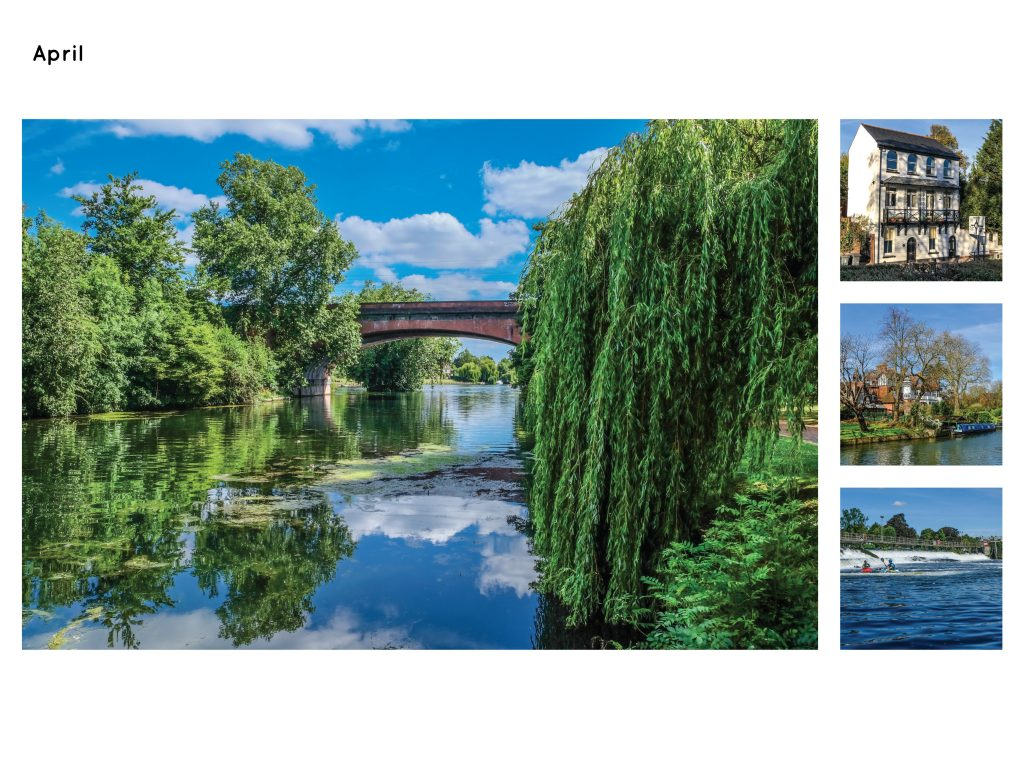 Maidenhead Calendar Page September