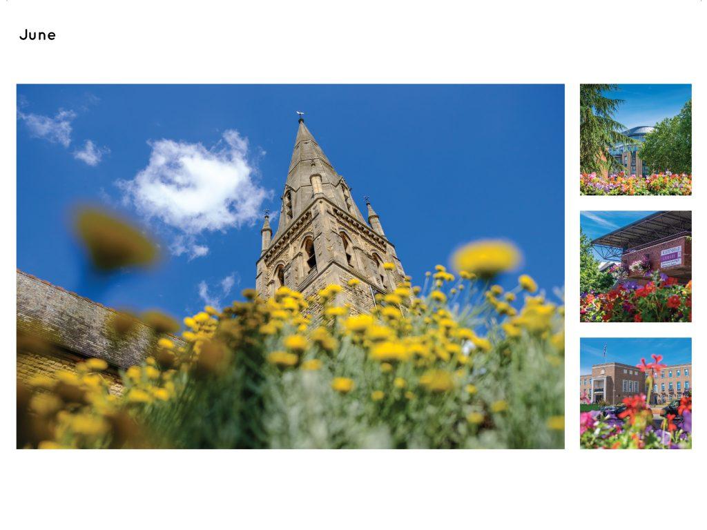 Maidenhead Calendar Page June