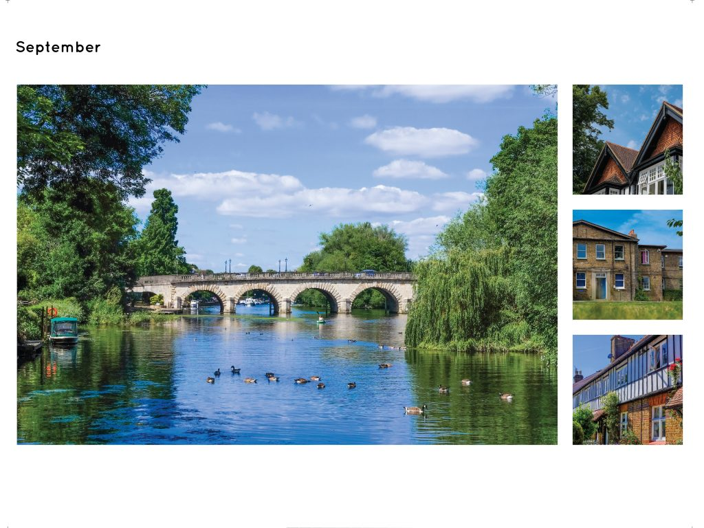 Maidenhead Calendar Page April