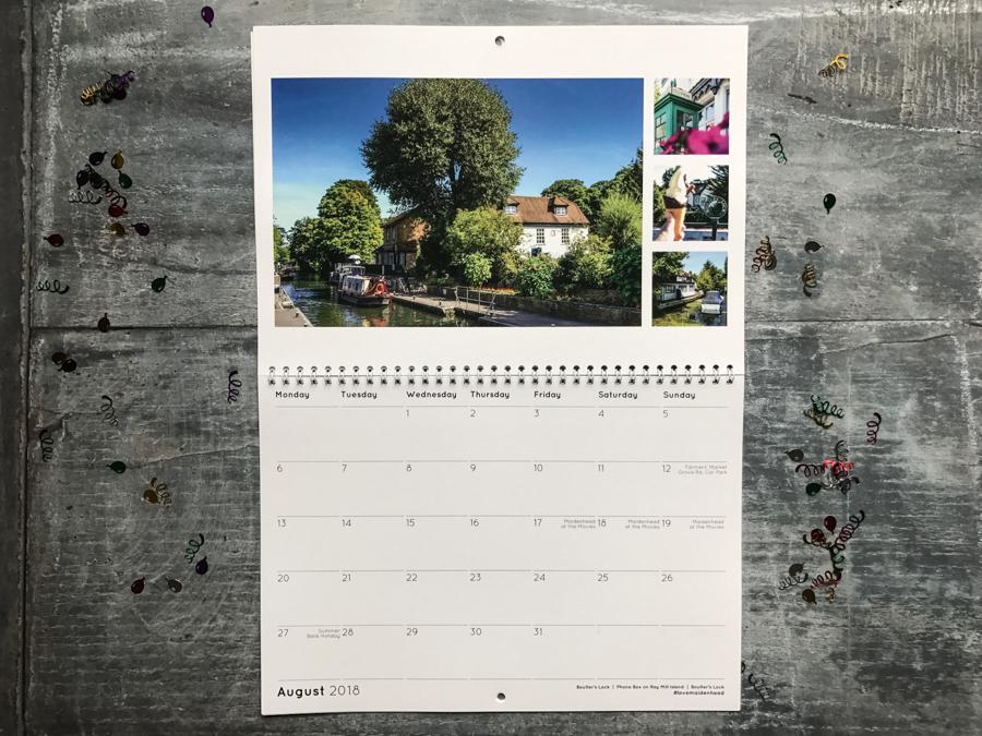 Maidenhead Calendar