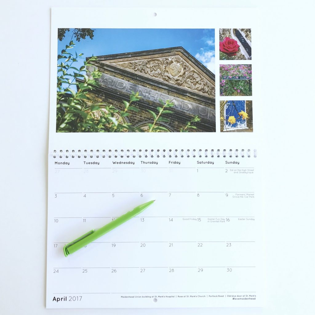 Maidenhead Calendar 2017