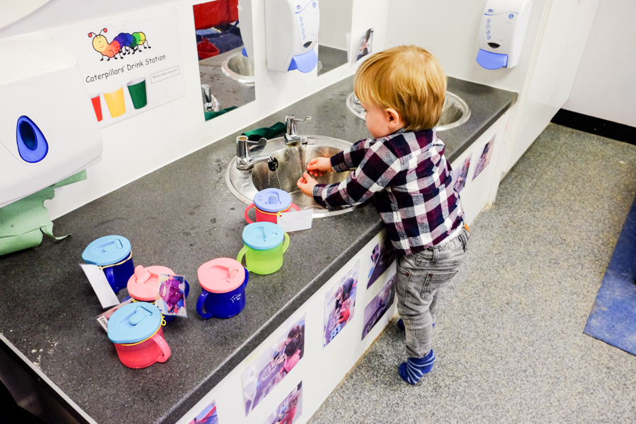 The toddler room at at the Co-op Nursery in Maidenhead