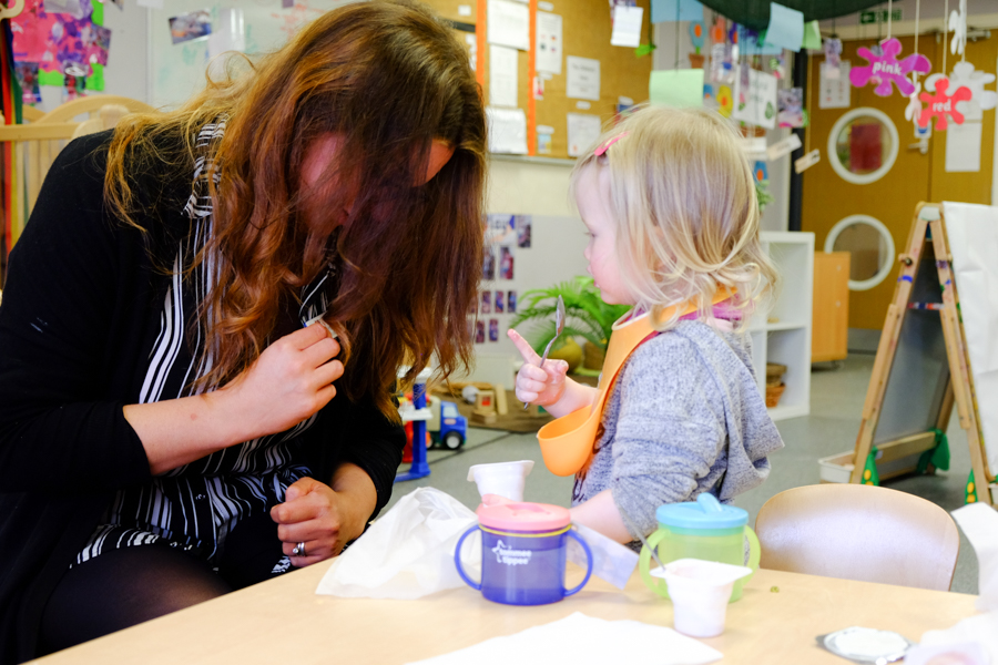 Inside the at the Co-op Nursery in Maidenhead