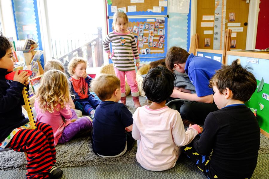 Children at the Co-op Nursery Maidenhead