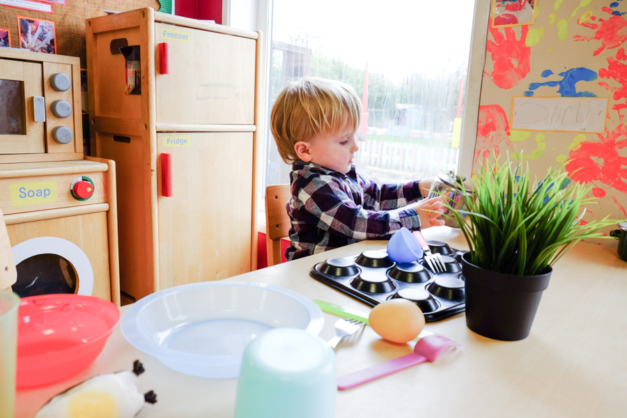 Inside the Co-op nursery Maidenhead
