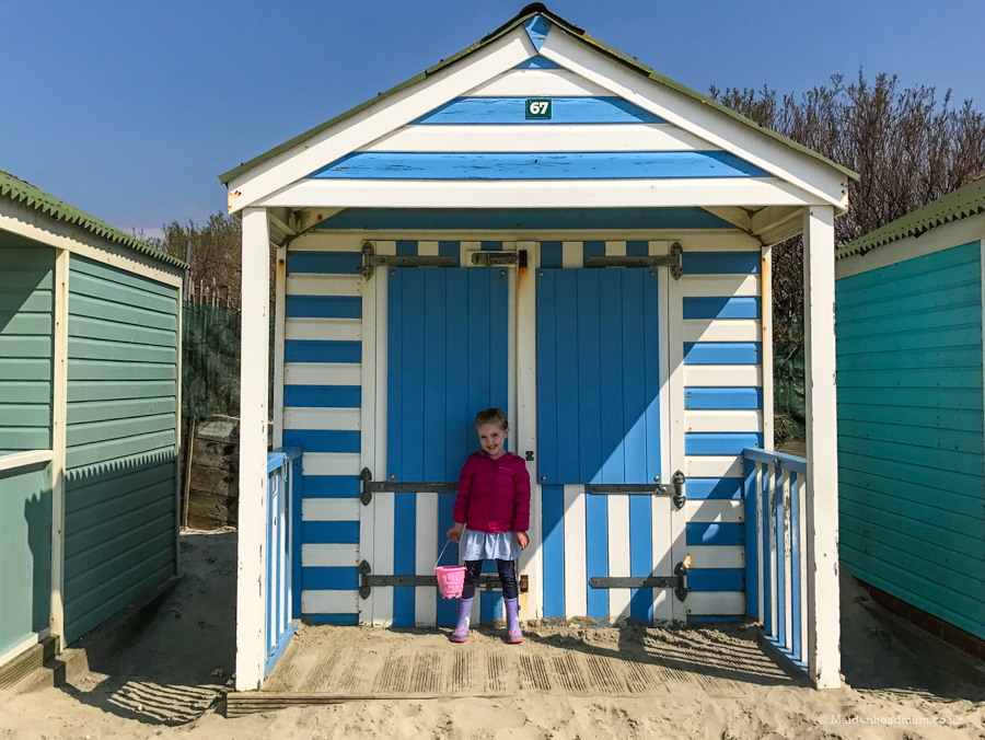Beach huts at West Wittering.