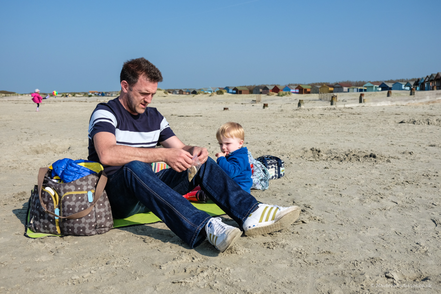 West Wittering beach.