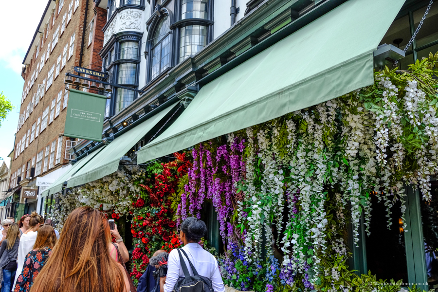 Chelsea Flower Show shops with flowers
