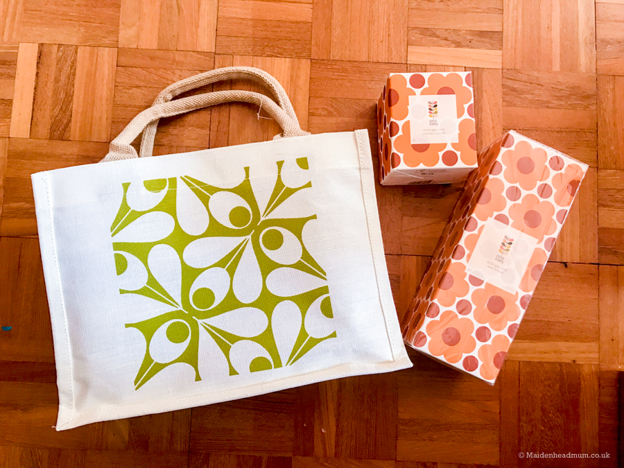 Orla Kiely gift with purchase for the Chelsea Flower show