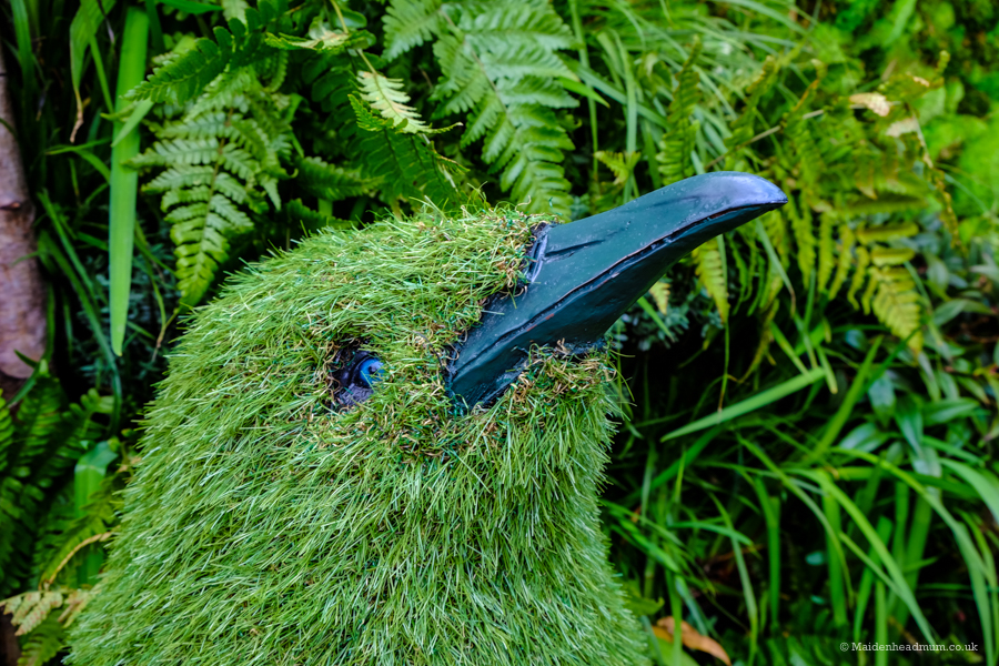 Topiary bird at The Chelsea Flower Show