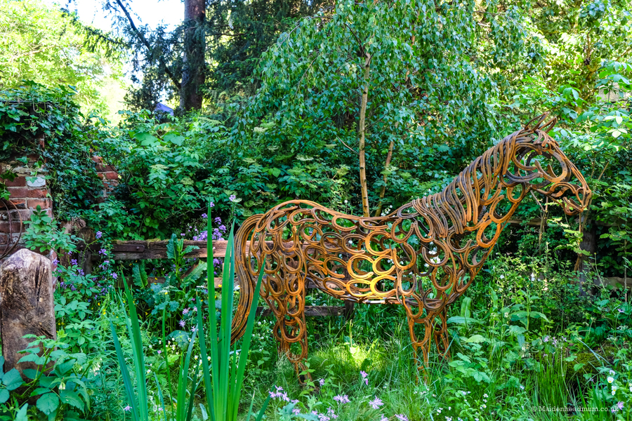 The Horse Welfare Garden at The Chelsea Flower Show