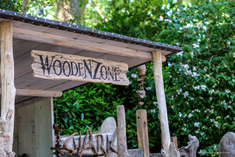 Wooden Zone at The Chelsea Flower Show