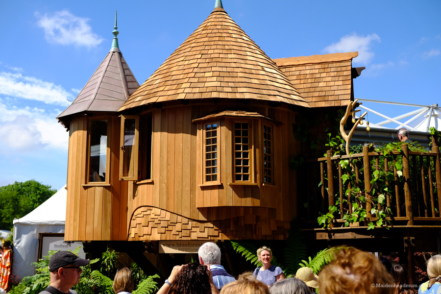 Garden house at the Chelsea Flower show