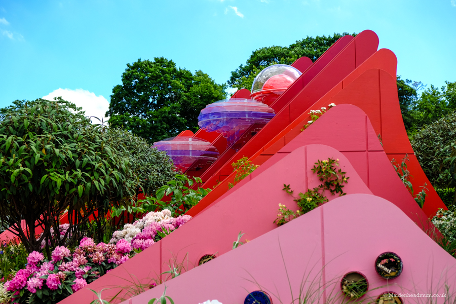 Silk Road Garden Chelsea Flower show 2017