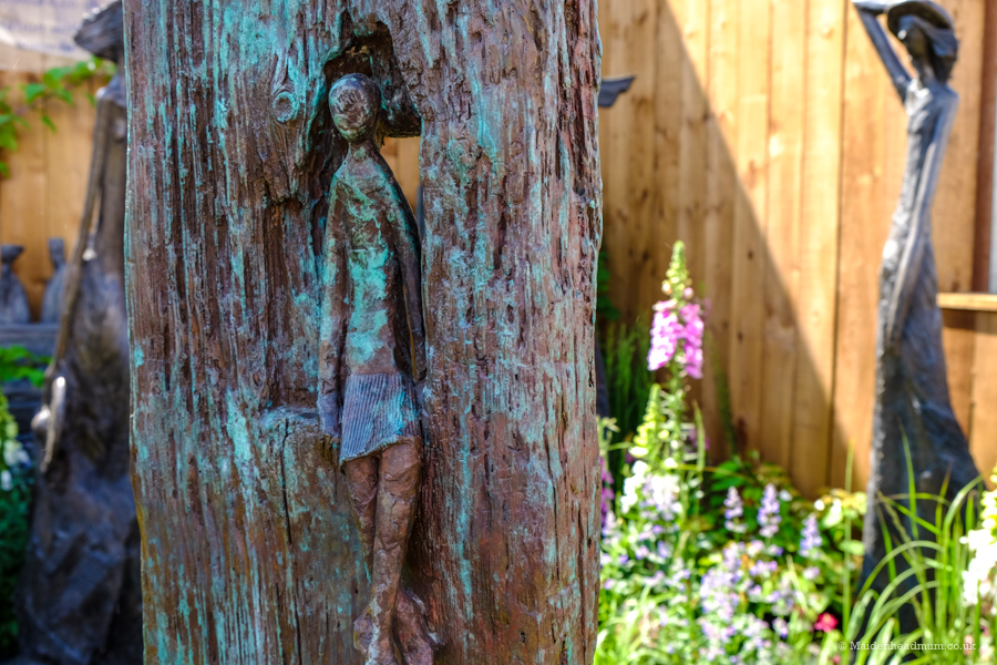 There were patterns and details to be found everywhere you looked at the Chelsea Flower Show