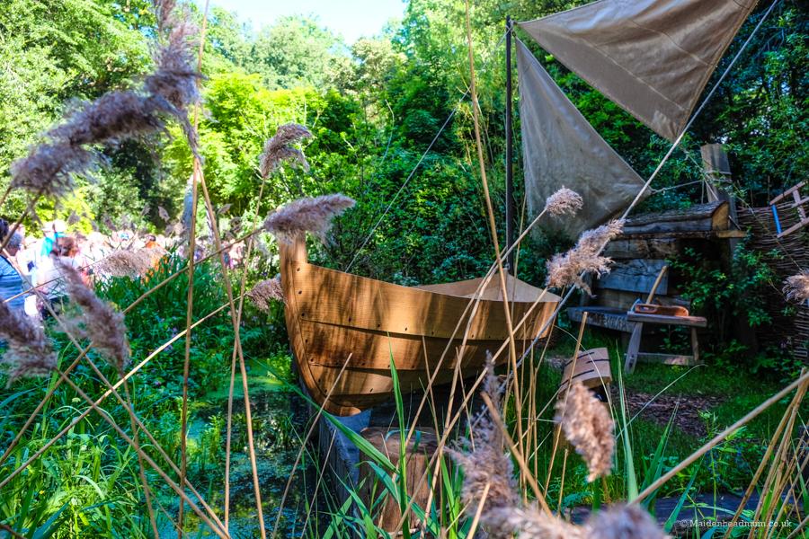 The IBTC Lowestoft: Broadland Boatbuilder's Garden at the Chelsea Flower Show