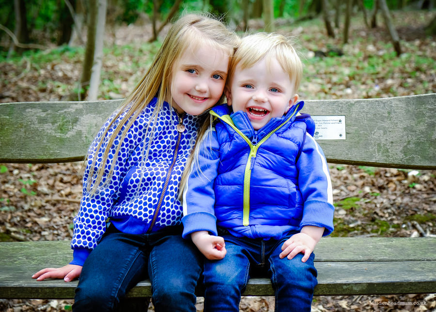 Children in Bisham Woods Maidenhead