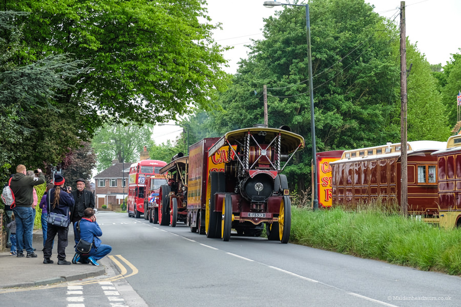 Carters steam fair vintage parade: childrens activities in Maidenhead