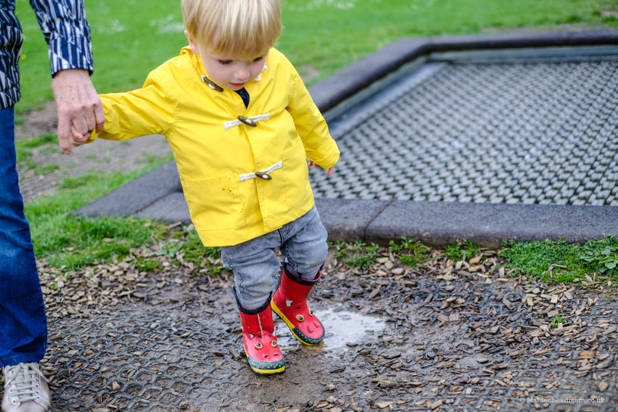 Toddler in the park: Oaken Grove Maidenhead