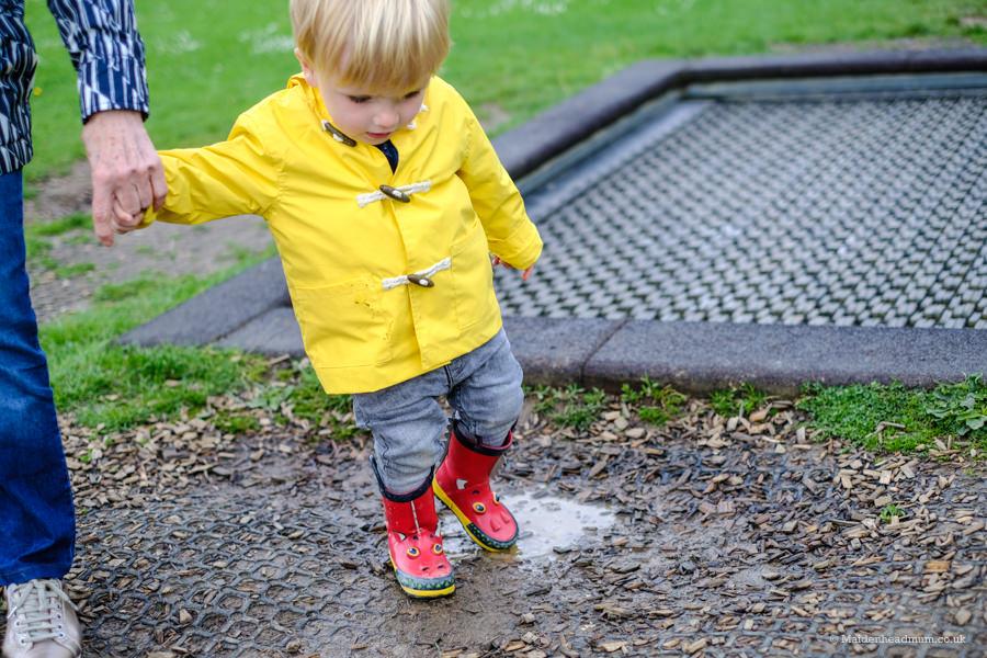Toddler in the park: Oaken Grove Maidenhead