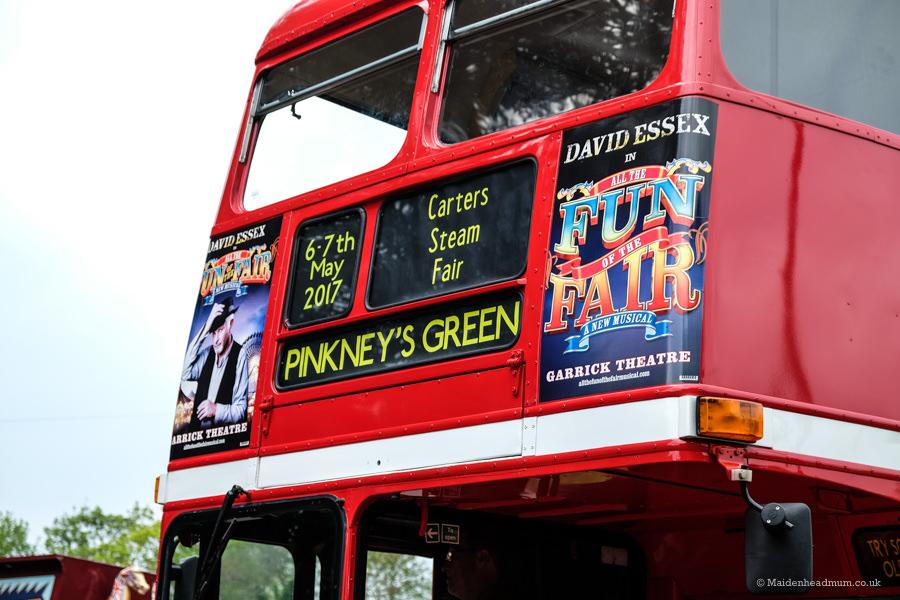 Carter's steam fair vintage parade: childrens activities Maidenhead