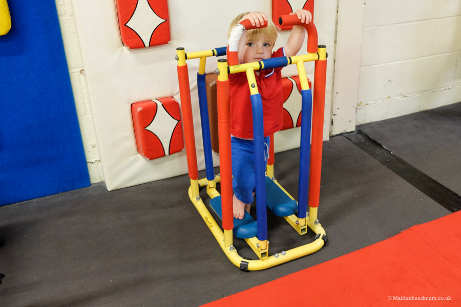 fitness for kids at Phoenix Playgym