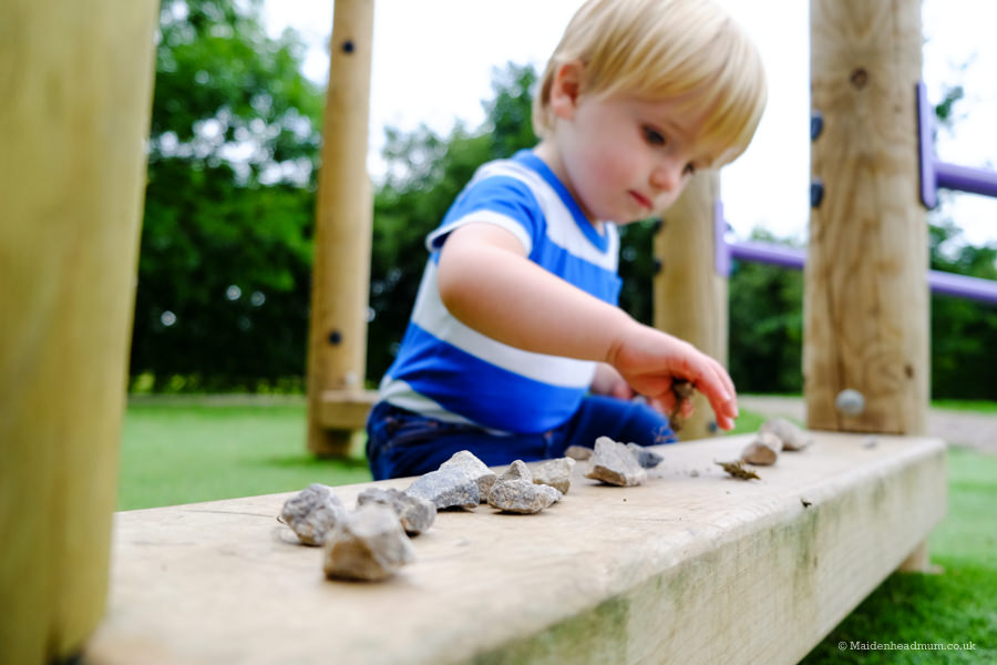 child at ockwells park in Maidenhead