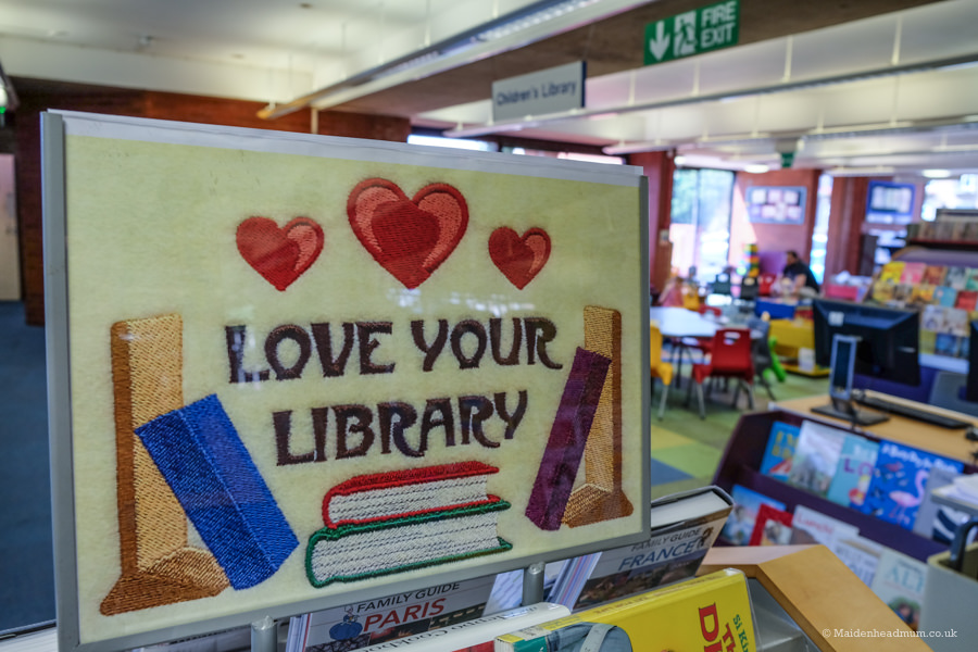 Things to do in Maidenhead before you're two: visit Maidenhead library