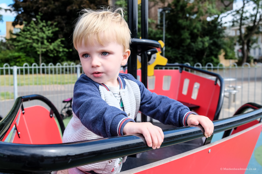 Playboat at kidwells park: children's activities in Maidenhead